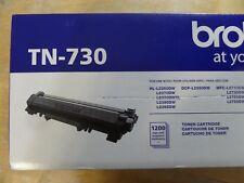 Genuine OEM Brother TN-730 TN 730 Black Mono Laser Toner Cartridge 012502649267