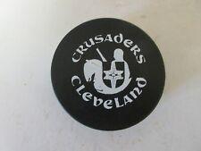 Cleveland Crusaders WHA Game Puck