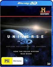 Universe in 3d - How The Solar System Was Made Blu-ray