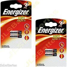 4 x Energizer 27A A27 MN27 12v Batteries E27A EL812 L828