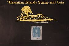 9  HAWAII SCOTT #9 UNUSED 1861 KINGDOM OF HAWAII KAMEHAMEHA III