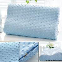 Memory Foam Slow Rebound Contour Neck Sleep Care Bed Home Travel Pillow Health