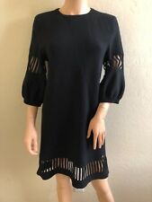 54e9e7a14d2b CHANEL Women s Wool Blend Short Sleeve Dresses for sale