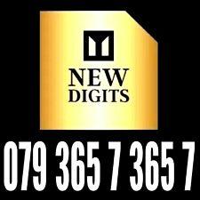 GOLD UK MEMORABLE EASY TO REMEMBER MOBILE PHONE NUMBER SIM CARD PLATINUM VIP 365