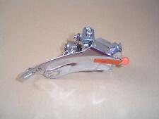 Shimano STX FD-MC34 Umwerfer 28,6mm Schelle Silber Zug von unten Top Swing Neu