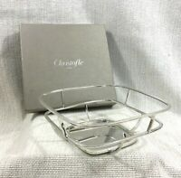 Christofle Silver Plated Bread Basket JEAN-MARIE MASSAUD Contemporary Modern