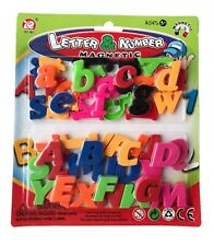 52pc Magnetic Alphabet Lower Case & Capital Letters 2 in 1 Fridge Magnets Toys
