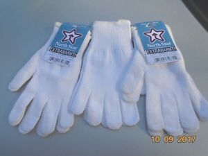 Thermax Extra  Warm glove Liner Fishing Hunting Skiing 3 Pr. Made in the USA