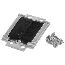 Aluminium Nylon Brush Key Hole Draught Excluder For Escutcheon EH1190