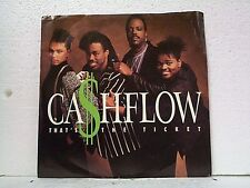 "CASHFLOW ""THAT'S THE TICKET / I NEED YOUR LOVE"" 45w/PS MINT"