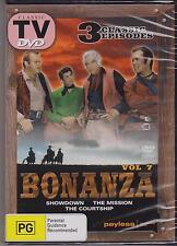 BONANZA VOL. 7 - CLASSIC TV - DVD - 3 CLASSIC EPISODES