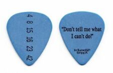 Marilyn Manson Twiggy Ramirez Lost Blue Guitar Pick - 2012 Tour