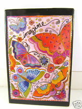 Laurel Burch Bright Butterflies Imagine Glossy Refrigerator Magnets New