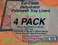 Food Dehydrator Dryer Tray Liner Mesh Sheet (5) Jerky Mango Fruit  Excalibur