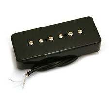 Black Soapbar P90 Style Bridge Guitar Pickup for Gibson/Epiphone® PU-P9S-BB