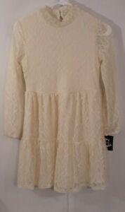 Girls Ivory Size L 10/12 Art Class Dress NWT