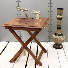 Wooden Folding Square Side & End Tables
