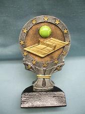 economy Tennis full color resin award R622-16