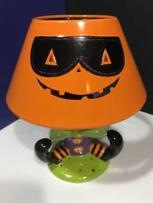 Ceramic Tea Lamp For Halloween Resembling Mcdonalds Hamburgerler
