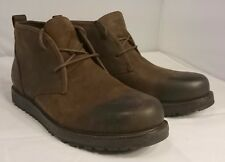 NEW 11 UGG Australia Men's Calderwood 1007807 Leather BROWN Boots NIB Mens Shoes