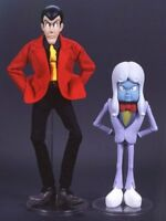 Used Stylish Collection Lupin the 3rd Lupin & Mamo Figure Medicom Toy