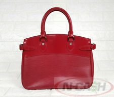 BIGSALE! AUTHENTIC $1480 LOUIS VUITTON Rubis Epi Leather Passy PM Handbag