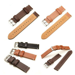 20 22mm Genuine Leather Watch Band Replacement Strap Wrist band For Fossil Watch