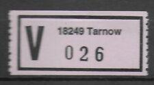 74607a) ** Wert-Zettel 18249 Tarnow