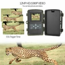 8 MP 1080P Fototrappola Mimetica Videocamera Caccia MMS GSM Mail 3G IR 42LED USB