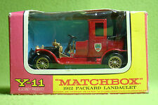 Modellauto - Matchbox - Models of Yesteryear Y-11 - 1912 Packard Landaulet - OVP