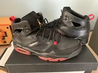 (GREAT CONDITION) Nike Air Jordan Retro V Men's Shoes Size 11.5 US Black And red