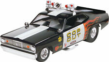 REVELL/MONOGRAM 1/25 PLYMOUTH DUSTER COP OUT FUNNY CAR PLASTIC KIT RE854093