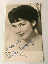 Monika Dahlberg Actress Singer Photo Autograph Hand Signed Authentic 10x15 cm