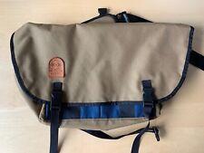 Vessel Workshop messenger bag cobra bag tan backpack pack shoulder bike cycling