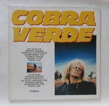 Popol Vuh – Cobra Verde - french OST LP - 1987 - 807270-938