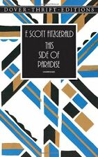 This Side of Paradise (Dover Thrift Editions) by F. Scott Fitzgerald