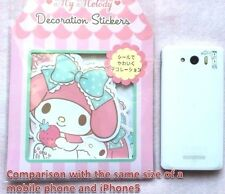 NEW Sanrio My Melody Decoration stickers JAPAN KAWAII 12 design Pink Rabbit