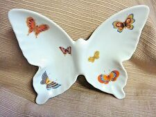 PRETTY & PERFECT Hand Decorated Porcelain BUTTERFLY DISH - Counterpoint San Fran