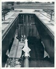 1958 Twin Cities MN Underground Revetments Hide the Nike From View Press Photo