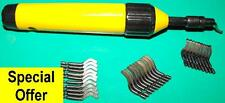 Telescopic deburring tool set with 30 HSS blades QUALITY set BSH30