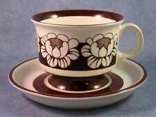ARABIA OF FINLAND, Katrilli, Vintage, Espresso/Mocca Cup & Saucer, Excellent