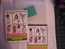 UNITED STATES POSTAL SERVICE (USPS) STAMPERS STARTER KIT 1996 w/ 3 Stamp SETS