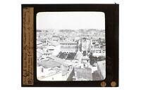 Italia Roma Panorama c1910 Foto Placca Da Proiezione Lanterna Magica