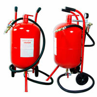 Portable Air Sandblaster sand blaster 20 Gallon Air Media Abrasive Blasting Tank