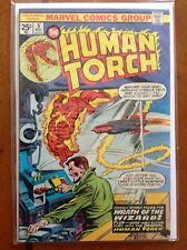 The Human Torch (1974 1st Series, Marvel Comics) #5 Stan Lee & Jack Kirby VF