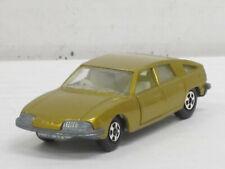 BMC 1800 Pininfarina, goldmetallic, ohne OVP, Matchbox Nr.56, ca. 1:75, L:7,5 cm