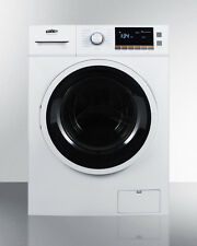 "Summit SPWD2200W  24"" Combo Washer Dryer Ventless Front load 120 Volt"