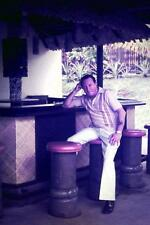 35mm Colour Slide- Sitting at the Outer Bar - Suva Travelodge - Fiji   - 1980's
