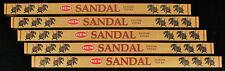 40 Sticks 5 x 8g Boxes SANDALWOOD Sandal Incense Natural Insence Bulk Packs HEM