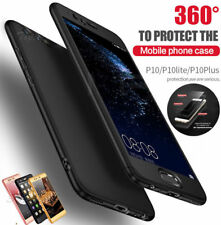 FOR Samsung S7 S8 S9 HYBRID HARD TOUGH ULTRA THIN CASE+TEMPERED GLASS COVER